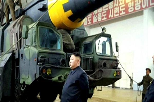 at any moment may be nuclear war north korea