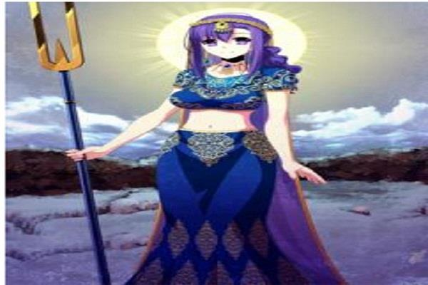 goddess parvati showed maid in mobile game