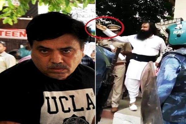 dera sacha sauda ceo disclosure aditya insinuated with honeypreet to plot riots
