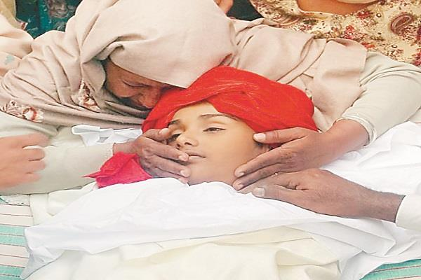 the child was shot dead during the marriage ceremony one injured