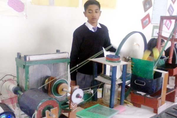 11th student created such a machine which will do so many things in the house
