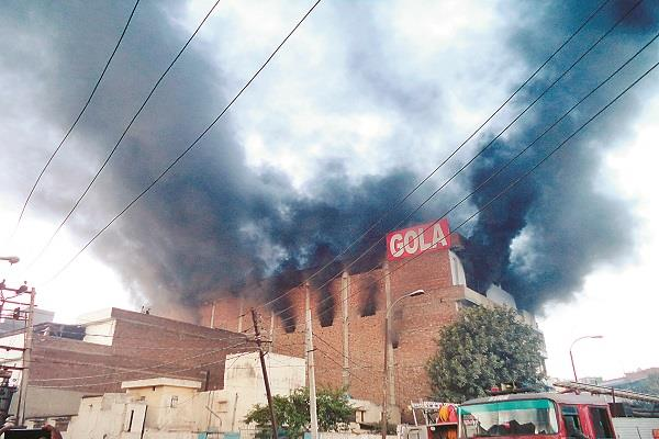 more than 30 people feared drowned in a fierce fire in ludhiana