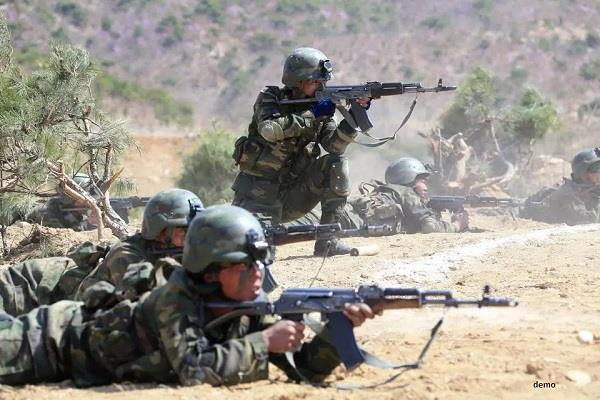 north korean army shot dead