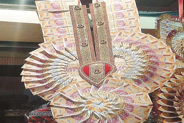 black money of rs 200 and rs 50 for marriage season