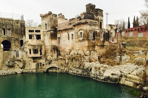 order to fill water in katas raj temple pond within a week