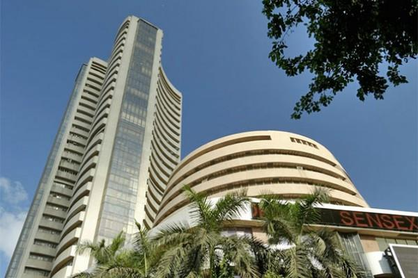 sensex rises 46 points to open at 33664