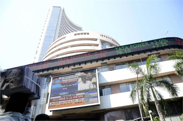 stock market rally sensex up 83 points to open at 33 397