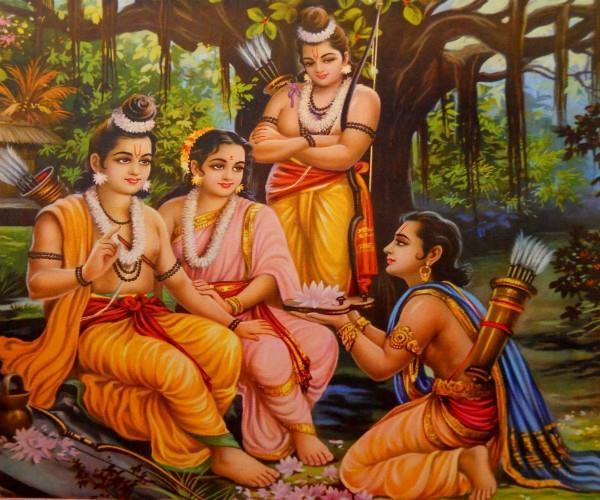 hanuman not bharata was the huge devotee of shri ram