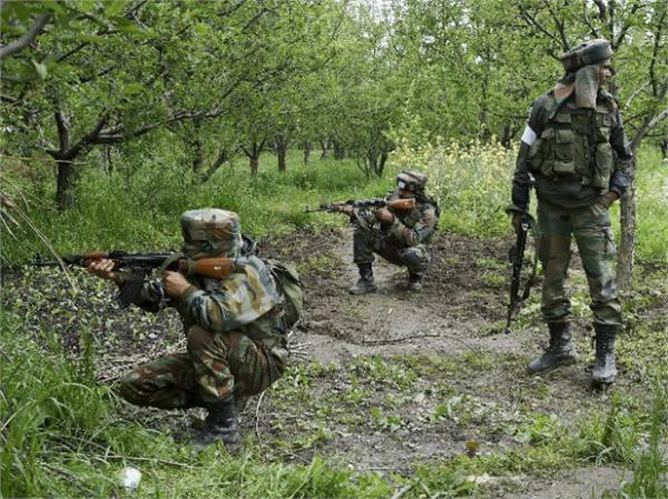 j k  tral qazigund encounter between security forces and terrorists