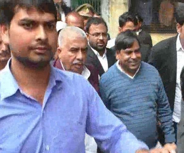 presented in gayatri prajapati court  bail in one case