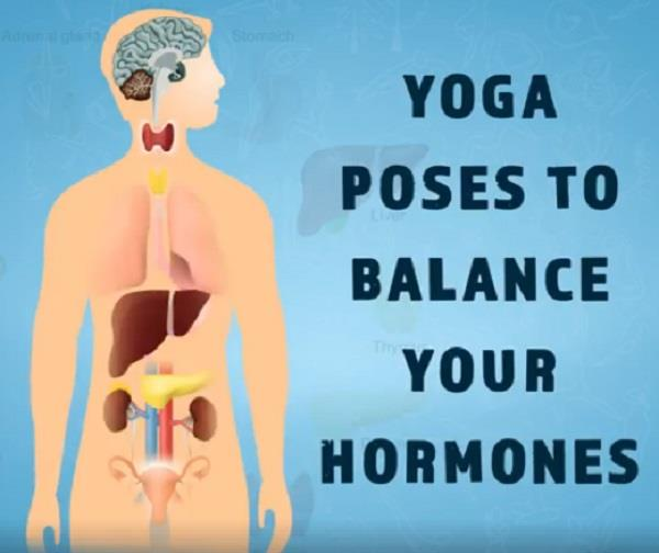 yoga poses to balance your hormones