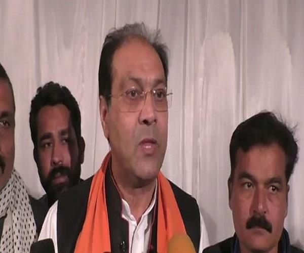 bjp leader s statement on muslims support given by mohsin raza