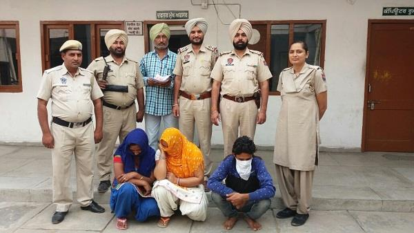 police arrest 3 with drugs