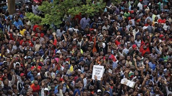 zimbabwe protest in harare calling for mugabe to quit