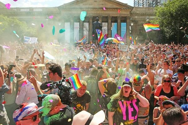 australians say yes to same sex marriage