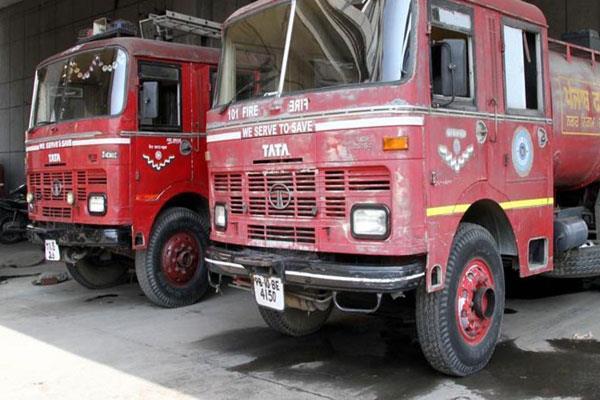 fire breakout at anantnag kashmir