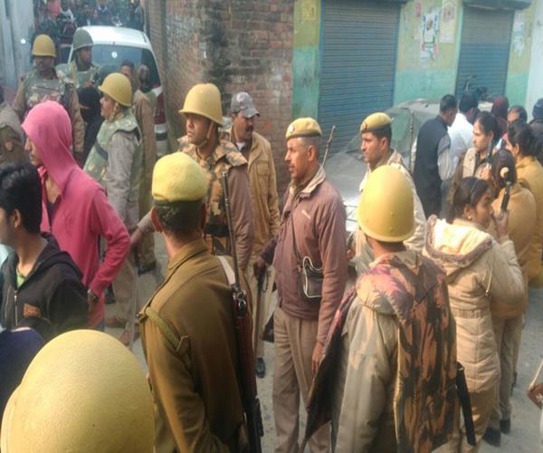 up body elections  nomber sticks on voters in barabanki