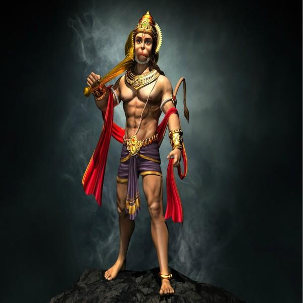 how hanumanji got the powers from deities
