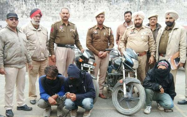 police arrest snatchers