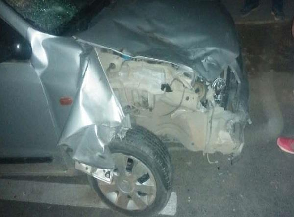 2 young man injured in road accident