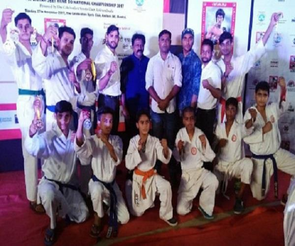 agra players raised the pride of the state  8 gold including 2 gold