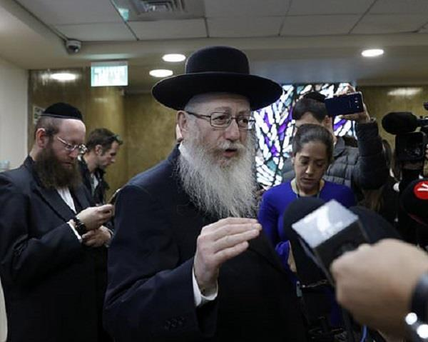 israel  s health minister resigns over work on sabbath