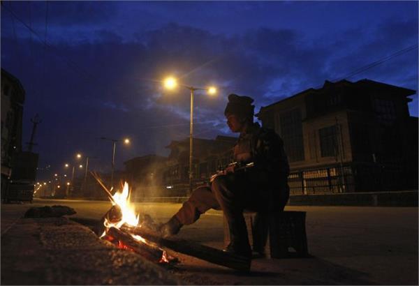 coldest night in leh