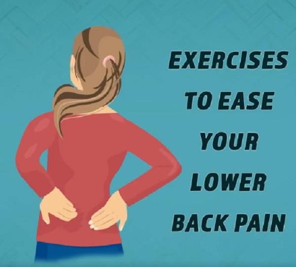 exercises to ease your lower back pain