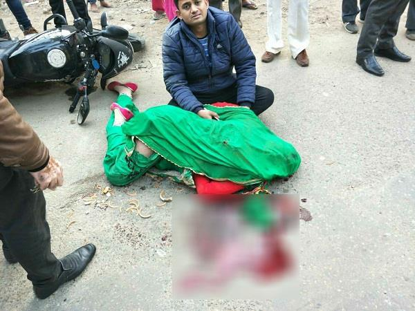 a newly married bride died in an accident at indora