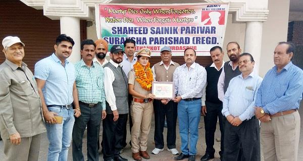 service to nation made bhumika sub inspector