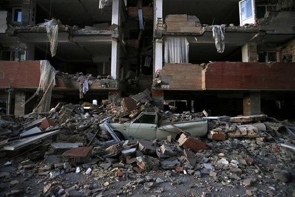 photos of earthquake on iran iraq border