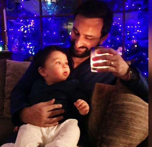taimur ali khan gets his children s day from daddy saif ali khan