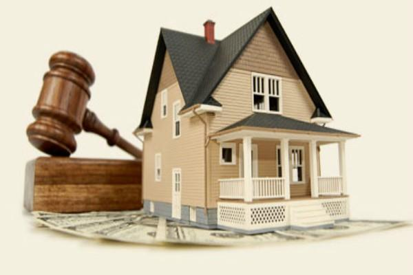 auction of 4 properties on property tax not filling