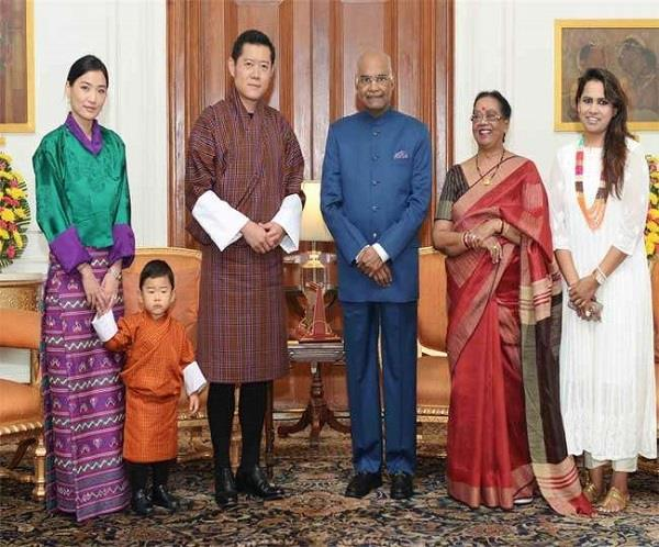 president kovind appreciates bhutan  s support in resolving doklam standoff