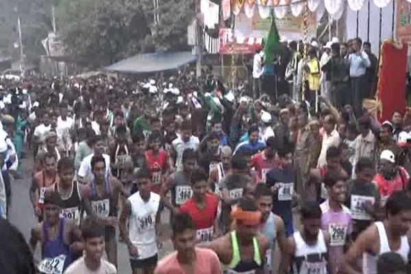 running on indira gandhi 100th birth anniversary