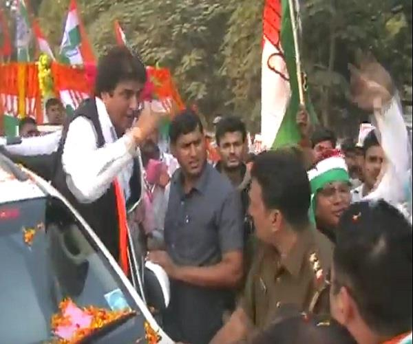 violation of code of conduct in rajbabbar roadshow