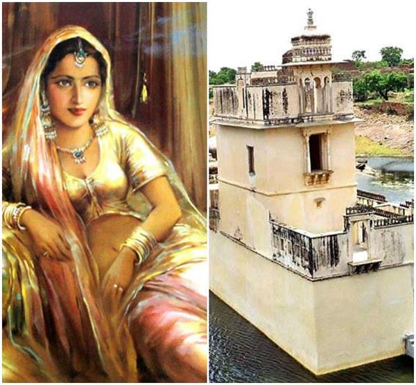 खूबसूरत रानियों के साथ इस महल में रहती थी रानी 'पद्मावती'