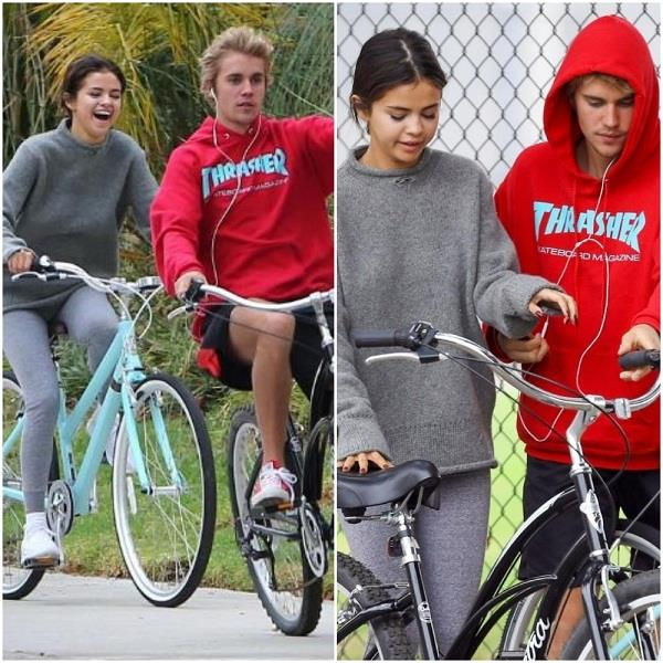 justin bieber and selena gomez latest pictures
