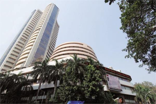 stock market weakness sensex down 92 points closes at 32941