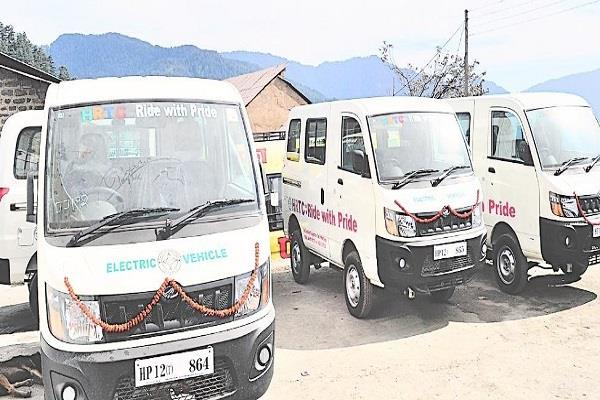 if ec allows permission  seven electric buses run in the state