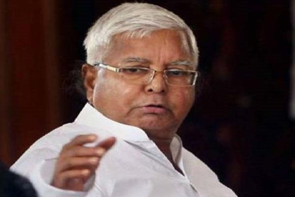 lalu attack on government of bihar