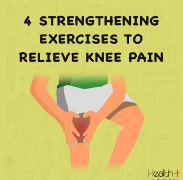 4 strengthening exercises to relieve knee pain