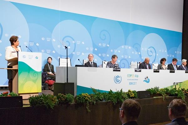climate change conference start in bonn