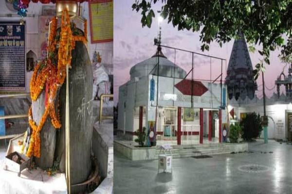 ardhanarishwar shivaling in kathgarh mahadev temple