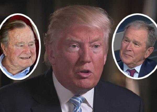 why george h w  bush voted for hillary clinton
