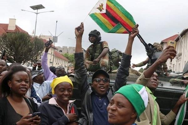 zimbabwe awaits new leader after mugabe  s shock exit