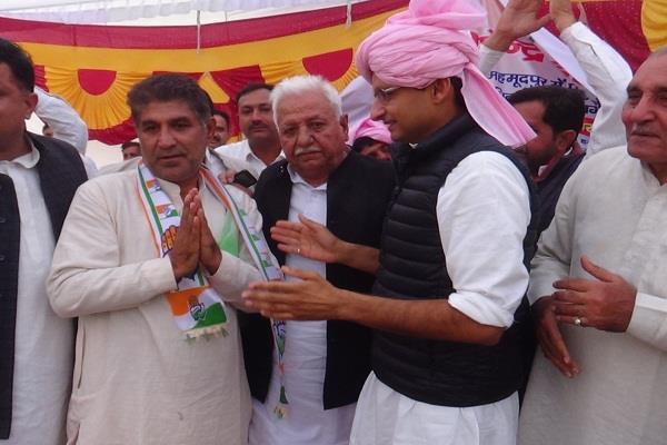 bjp mudalana divisional president satpal mann congress