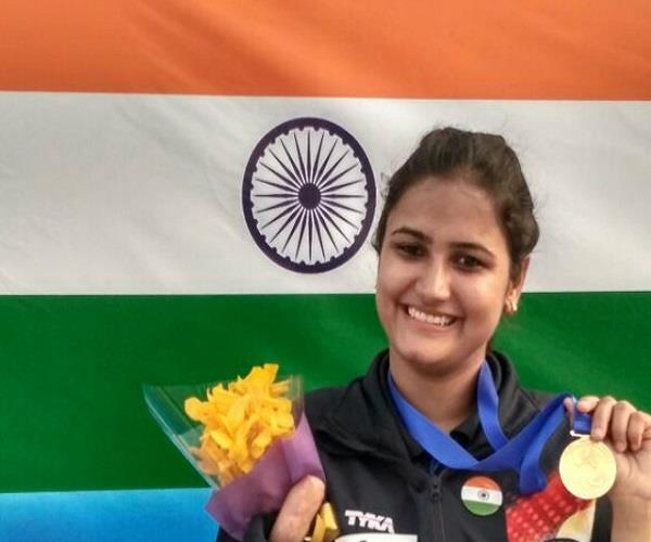 shooting world cup lady eklavya targets sonia on gold imposed