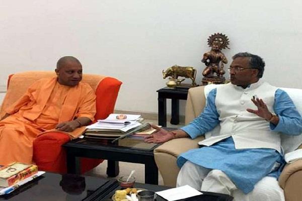 yogi rawat meeting in lucknow