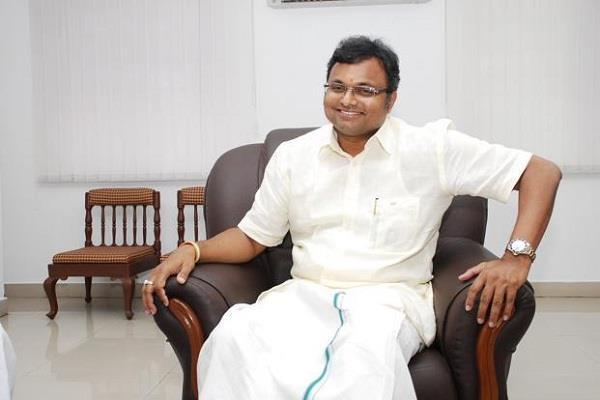karti chidambaram receives relief from supreme court
